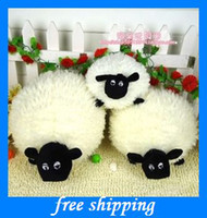 Wholesale popular Soft cartoon sheep Sean doll children s doll pillow kids plush toy baby toys