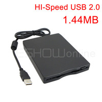 Wholesale LED indicator USB External MB quot Slim Floppy Disc Disk Drive D2049A