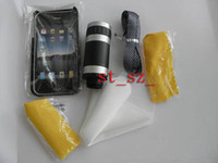 Wholesale For Vedio Collection Camera Lens Mobile Phone X amp X Zoom Telescope qualified with Accessories