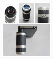 Wholesale 6X amp X Zoom Mobile Phone Telescope Vedio Collection Camera Lens New Design with Accessories XMAS