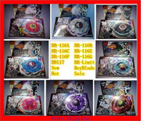 Wholesale NEW BEYBLADE METAL FUSION FIGHT STARTER BEYBLADE SPIN TOP TOY BEYBLADES MIX ALL MODEL OF BB116