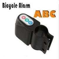 Wholesale Bicycle Alarm Motorbike Alarm Security Bicycle Alarm Audible Sound Lock Bike Black Free sh