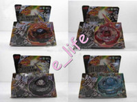 Wholesale New Styles Clash Metal D Beyblades Spinning Tops Toys
