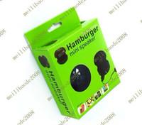 Wholesale 8pcs D05 Hamburger Mini USB Speaker For Laptop Computer Pod i Phone