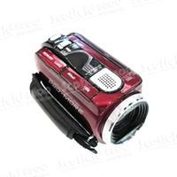 Wholesale 100 Brand New Digital Video Camera Camcorder Mini DV HD C4 MP High Definition x Zoom Black Red