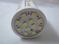 Freeshipping E27(E14 B22) 11W 110V 220- 240V LED lamps 5050SM...