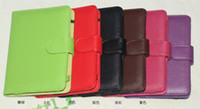Wholesale Brand New PU Flip Leather case for quot kindle fire quot kindle touch Amazon E book Reader Cover