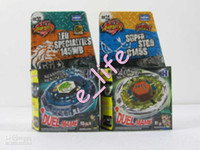 Wholesale Hot sales styles Rapidity Super Top Clash Metal Beyblade Without Launcher Spinnin