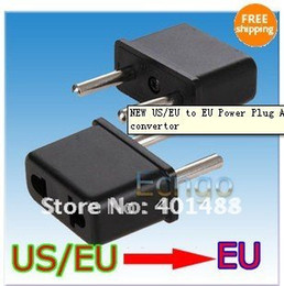 New Style US EU to EU Power Plug Adapter for Europe convertor