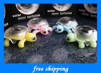 Wholesale hot gifts Solar little turtle Children s favorite creative fun baby educatio toys