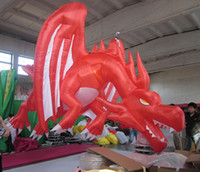 Wholesale 2012 hot sale advertising mascot inflatable dragon
