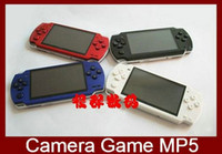 Wholesale 4 quot Video Game Player Game Console GB Memory MP5 Player Colors For Sample