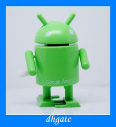 Wholesale NEW Google Android toys robots canned brother clockwork toys kids gifts