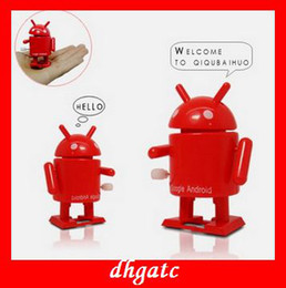 Wholesale hot Google Android links toy robots clockwork toys kids birthday gifts