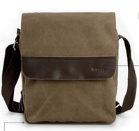 Wholesale fashion bag men messenger bag canvas fashion bag handbag coffee