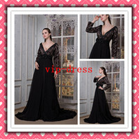 2012 Fashion Sexy Open Long Sleeve Black Lace Real Dress Eve...