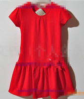 Wholesale BBY Baby amp Kids Clothing children s dresses skirt white red pink orange colors