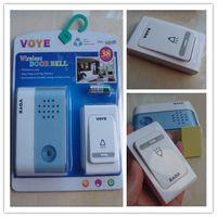 Wholesale Wireless Cordless Musical Melody Doorbell Door Bell Chime Digital Songs Intelligent Flashlight