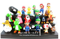 Wholesale Super Mario Mario MARIO role of a large collection of vinyl dolls trumpet section