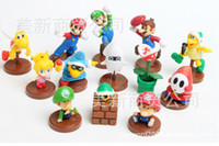 Wholesale Super Mario Super Mario Bros Nintendo Mario doll l ornaments third generation mixed