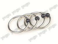Wholesale 50PC Surgical Steel Captive Bead Rings Ear Piercing Orelha Cartilagem Nipple Eyebrow Rings Piercing Body Jewelry g CPJ35