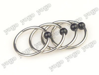 50PC Surgical Steel Captive Bead Rings Nipple Eyebrow Rings ...