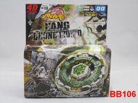 Wholesale New D Beyblade Metal Fusion beyblade BB108 BB106 BB105 BB100 BB99 Children kid gift toy