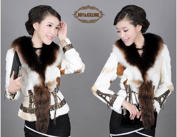 Group of: Fashion Style Cute Fawn Pattern Embellished Sweater Coat
