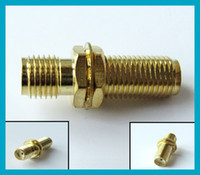 SMA adapter SMA Jack female to SMA female bulkhead connector...