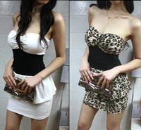 Wholesale Women Party Cocktail Bustier Dress Mini Clubbing Wear