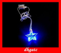 Wholesale popular Listing LED Cross type glow necklace personalized fashion WOMEN girl gifts