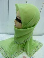 Wholesale mu097 NEW design muslim hijab islamic long scarf shawl mix colors