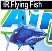 air swimmers rc - Air Swimmers Clownfish Shark Nemo Flying Remote Control RC Fish DHL
