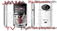 Wholesale BEST PRICE L168 four SIM card quad band Java TV phone FULL KEYBOARD SMART MOBILE PHONE FREESHIPPING