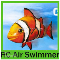 air swimmers rc - Air Swimmers Flying Clownfish Shark Nemo Flying Remote Control RC Fish HKpost
