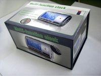 Wholesale SPY Clock With DV Video Recorder Hidden Camera Motion Detector Retail Box