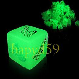 wholesale flirt luminous lovers couple game dice
