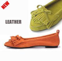 ballerina heels - retail Real leather ballerina shoes
