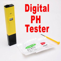 Wholesale Piece Digital PH Meter Tester Pocket Pen Aquarium Pool Water Screwdriver