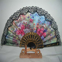 Wholesale Ladies Hand Fans Bridal Wedding Fans Handmade Plastic and Lace Fans Advertising and Promotional Fans Folding Fans