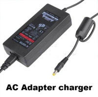Wholesale New Convenient Slim Power Cord AC Adapter Charger Supply For PS2 Black
