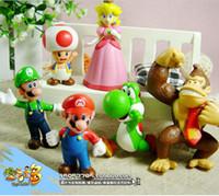 Wholesale Super Mario Princess Mary Mary mushroom orangutan doll styles mixed