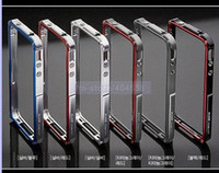Wholesale Price Discount Aluminium Blade Bumper Case for iPhone FREESHIPPING