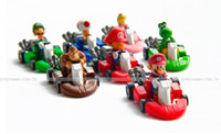 Wholesale Super Mario Super Mario doll back to cars interesting plastic toys styles mixed