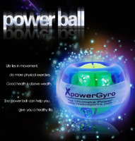 Wholesale New Mix Color LCD Counter Led Lights Power Ball Wrist Ball Powerball With Retail Package