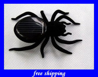 Wholesale Sample order cute Solar Spider robot exotic products children educational toys kids gifts