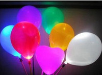 Wholesale Christmas gift New led flashing balloon lighting balloon Children kid toys party supplies
