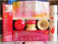Wholesale YiQi Beauty Whitening Effective In Days facial cleanser red cover