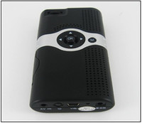 Wholesale DHL Free High quality Mini portable Mobile Pocket V50 LED Cinema Pico Projector DLP Lumens GT MP