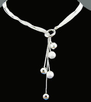 Wholesale Sterling Silver Necklace Silver Necklace Fashion Necklace Fashion Jewelry BN029